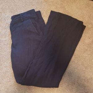 Navy blue linen wide leg pants!